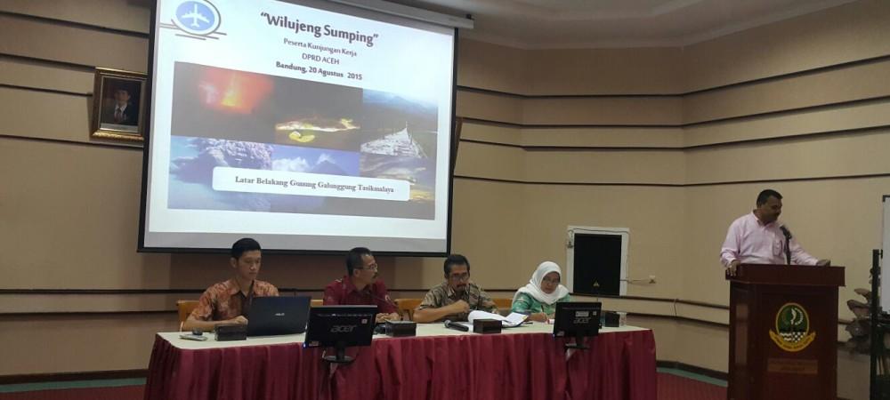 Kunjungan Kerja DPRD Provinsi Aceh