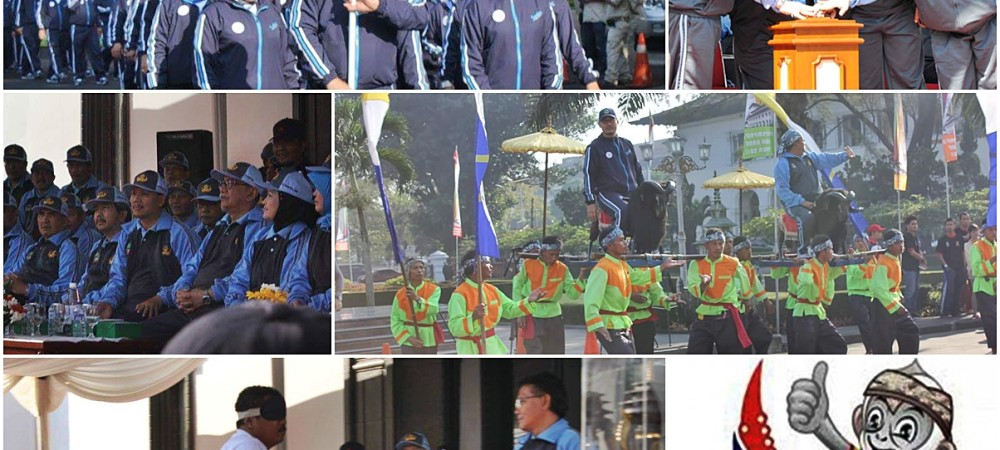 Inspektorat Provinsi Jawa Barat siap berpartisipasi pada PORPEMPROV XI Tahun 2015