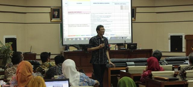 Bimtek Reviu LKIP Daerah dan Evaluasi LKIP OPD di Inspektorat Provinsi Jawa Barat