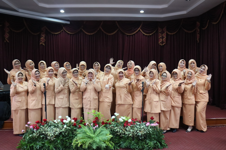 Pengukungan Pengurus Dharma Wanita Persatuan Inspektorat Provinsi Jawa Barat