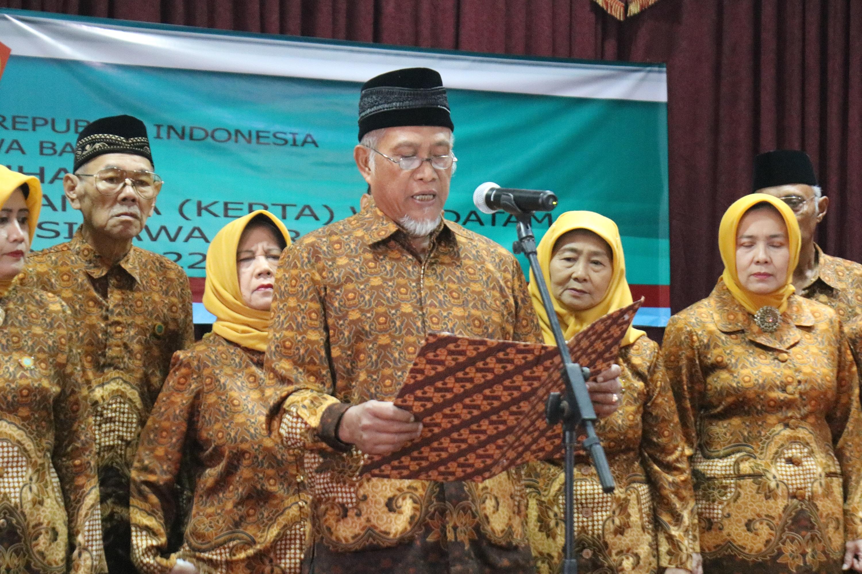 Pelepasan Pegawai Purna Bakti sekaligus Silaturahmi Keluarga Besar Pegawai Inspektorat Provinsi Jawa Barat