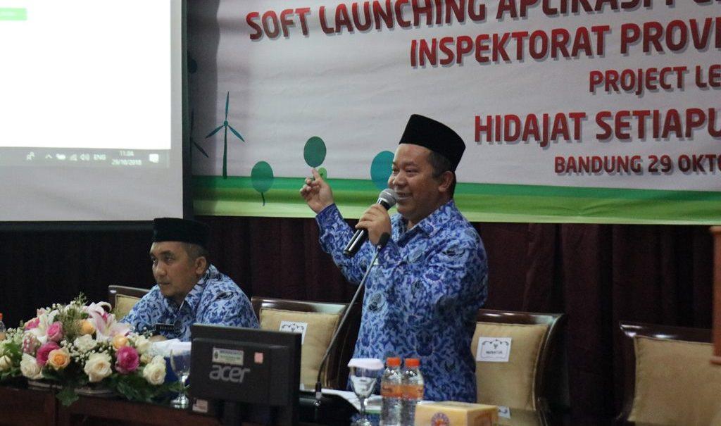 Soft Launching Aplikasi Pengaduan dan Konsultasi