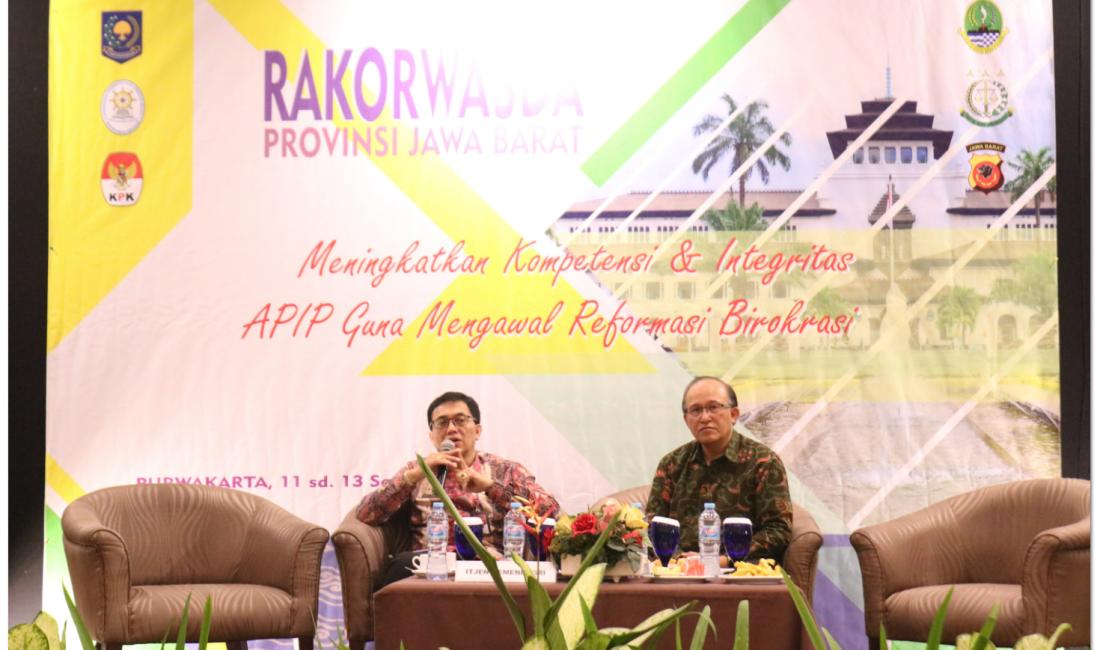 Rakorwasda Meningkatkan Kompetensi dan Integritas APIP